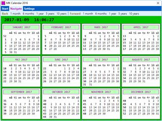 MK Calendar